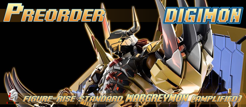 Figure-rise Standard - Digimon: Wargreymon (Amplified)